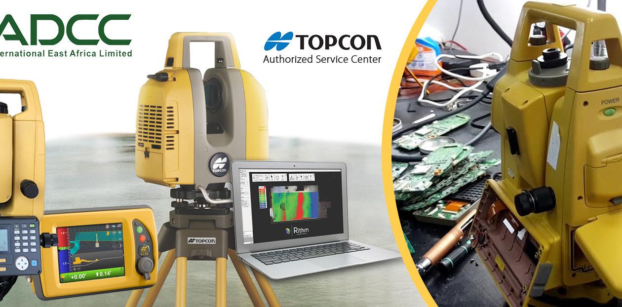 Topcon authorized service